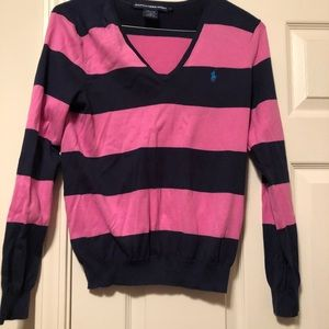 Women's large polo sweater
